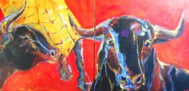 Bulls . Françoise Raffy
