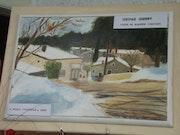 Die Cevennen im Schnee 2010 .