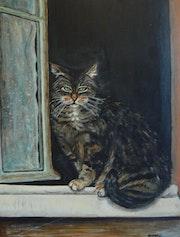 Die Katze selbst Josephine . Patricia André