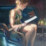 The letter - bright - dark . Marie-Claude