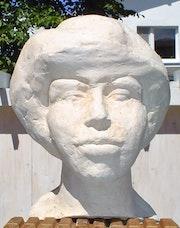Plastik 29: Büste «Junge Frau». Hans-Joachim Salchow
