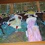 Au Moulin Rouge La Dance d'aprés un tableau de Toulouse Lautrec. Luc Terrail