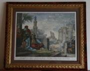 Massaker von den Mamelucken Rebellen Chateau Kairo am 1. März 1811.