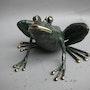 La rana verde. Chassin Daniel Sculpteur
