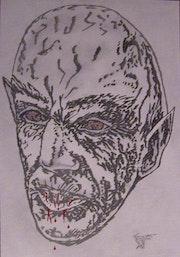 Face Mystery Nosferatus .