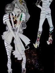Der junge Picasso Stiefel. Montserrat Castellano