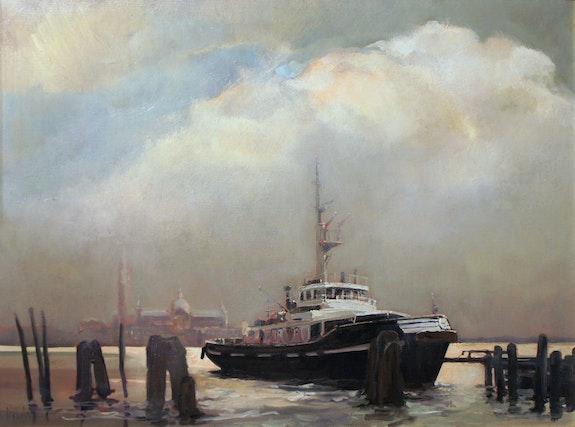 Letargo (Venedig) Der Schlepper . Jean Dulac Dulac (Jean Dulac Fils)
