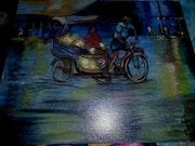 Taxi au vietname. Christiane Fauchon