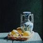 Homage to Vermeer . Alfonso Peñalver