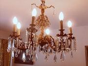 Französisch Louis XV Bronze Spinne und caireles . Mercedes Sandoval
