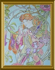 Inspiration lierre A. Mucha.