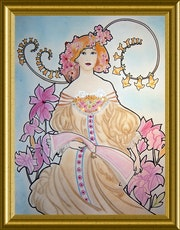 Inspiration reverie A. Mucha.