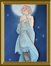 Inspiration la lune A. Mucha.