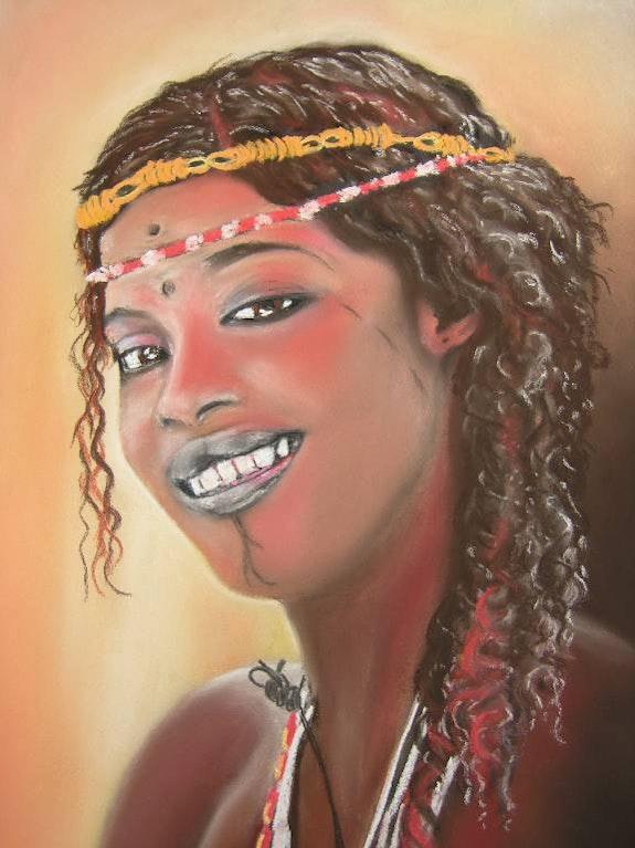 Female Fulani of Burkina Faso . B. Sannier Bernard Sannier