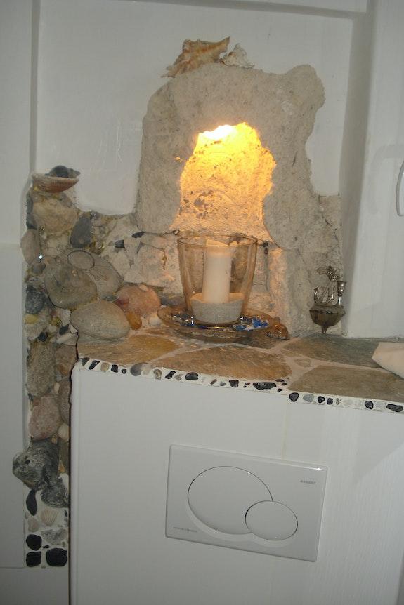 Grotte de pierres .  Wildekunst