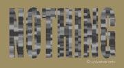 Nothing 2 - limitierte Original Grafik - Mario Strack. Universal Arts Galerie Studio Gmbh