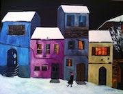 Noche de Navidad en alguna ciudad. Clara Duch