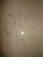 Jean Cocteau Litografía .
