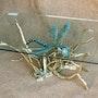 Libéllule sur branche. Chassin Daniel Sculpteur