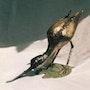 Avocette. Chassin Daniel Sculpteur
