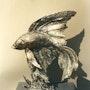 Combattant. Chassin Daniel Sculpteur