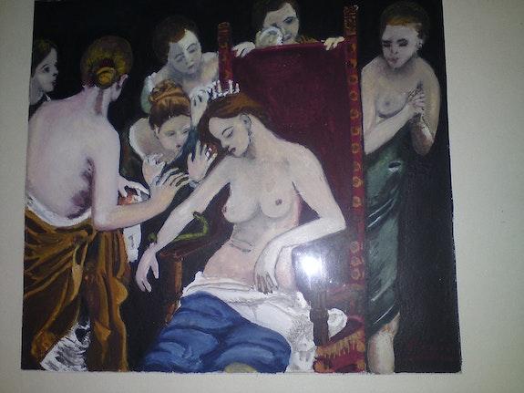 La muerte de Cleopatra . M. Pepin Martine Pepin