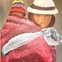 El boliviano y de su hijo. Valérie Audibert