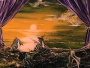 Odysseus und die Sirenen.