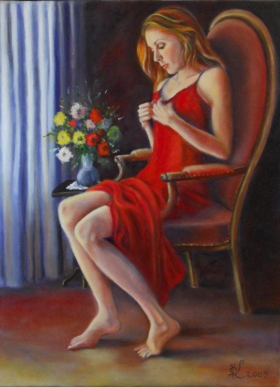 Girl with Red Dress. Marie-Claude Lempereur - Laurent Marie-Claude