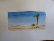 Desierto del Sahara .