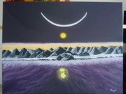 Arctic Moon .