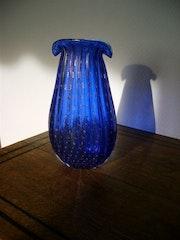 Superb Murano vase signed . Claudine De Vuyst