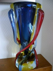 Big and heavy vase vintage Murano. . Claudine De Vuyst