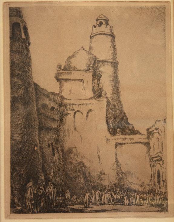 Charaktere Nordafrikaner. Isidore Van Mens (1890-1985) Artsmag Tng