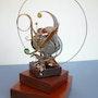 Animated Sculpture # 25. Frédéric Letrun