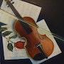 El violín y la rosa . Yvette Mandin