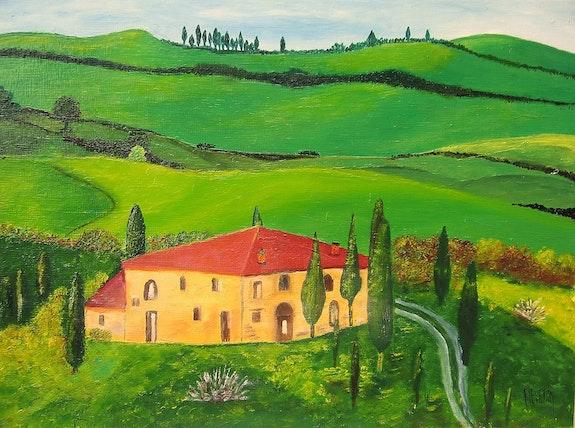 Casa en Toscana .  Jean-Marc Fievet