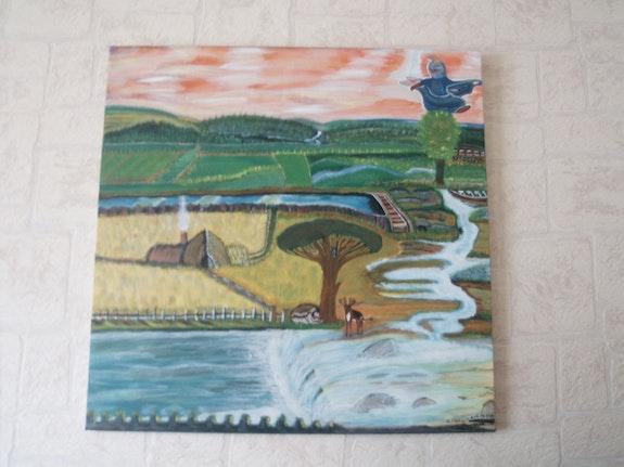 Landscape of Yesteryear. Graziella Staffieri Gsh-94