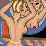 Peroxyde Blond - miniature peinture originale - Jacqueline_Ditt. Universal Arts Galerie Studio Gmbh