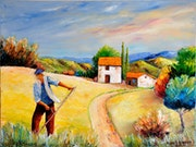 The reaper in Provence.