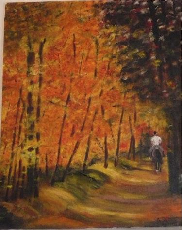 Walk through the woods. Gerard Betat
