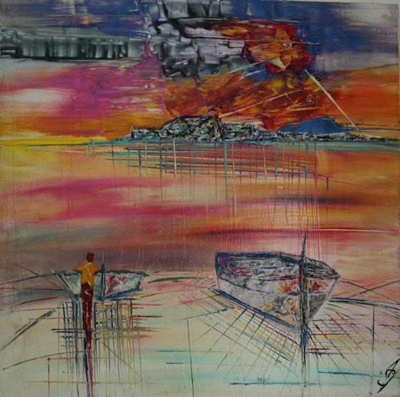 Horizon. Anne Sophie Vieren Anne Sophie Artiste Peintre Nantes
