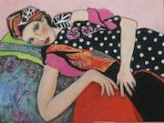 Woman with Turban.