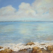 The Seagull and the Spinnaker Tower. Sandra Francis Paintings