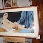 La Odalisca de Ingres Grande. Nicole Norval