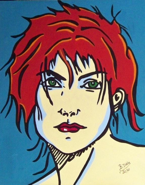 Portrait of a Lady . Daly Bouzelmad Daly Bouzelmad