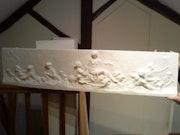 Very nice low reilef Plaster No. 1 . L'Art d'Helene