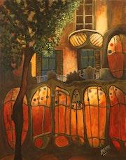 House Gaudi Barcelona.