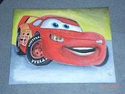 Lightning McQueen aus cars. Christian Fiedler