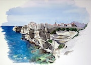 The cliffs of Bonifacio.